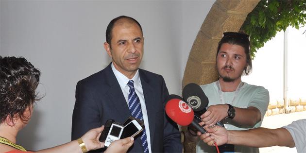 """""""Görüşmede esasen Maronitler konusu, Derinya ve Aplıç sınır kapıları ele alındı"""""""