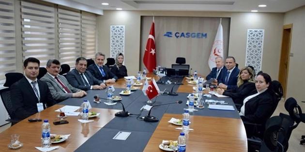 Çalışma ve Sosyal Güvenlik Bakanlığı heyeti Ankara'da temaslarda bulundu