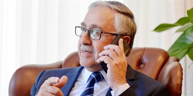 Cumhurbaşkanı Akıncı, Lute'la telefonda görüştü