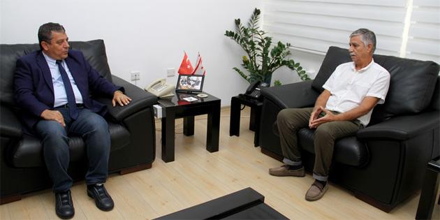 Dürüst, MASİB Başkanı Akın ile sektör sorunlarını görüştü