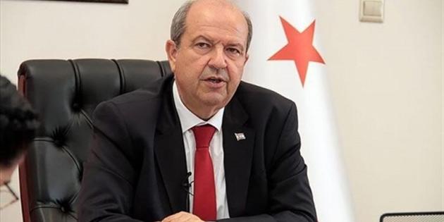 Tatar, Kıbrıs Türk halkının haklarını kimsenin gasp edemeyeceğini vurguladı