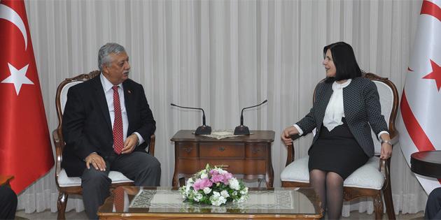 Meclis Başkanı Siber, YYK ve RTÜK yetkililerini kabul etti