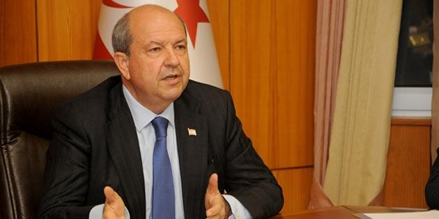 Başbakan Tatar'dan yoğun bakımdaki İngiltere Başbakanına geçmiş olsun mesajı