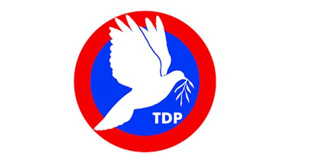 TDP 6. olağan kurultayı 17 Aralık'ta yapılacak