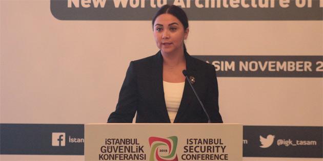 İçişleri Bakanı Ayşegül Baybars 5. İstanbul Güvenlik Konferansı'na katıldı