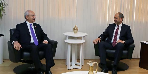Özersay, Kılıçdaroğlu'nu kabul etti