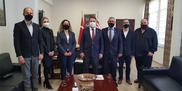 Memur-Sen Başbakan Saner ile görüştü
