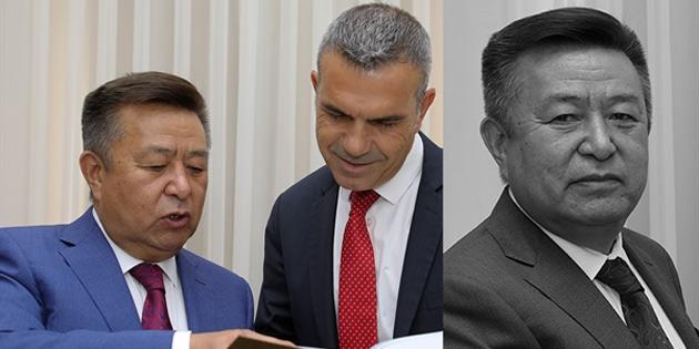 Uluçay'dan vefat eden Kırgızistan eski Meclis Başkanı için taziye mesajı