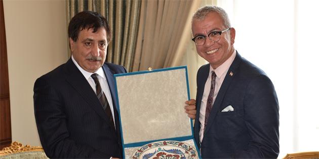 Esenyel, Bursa Valisi'ni ziyaret etti