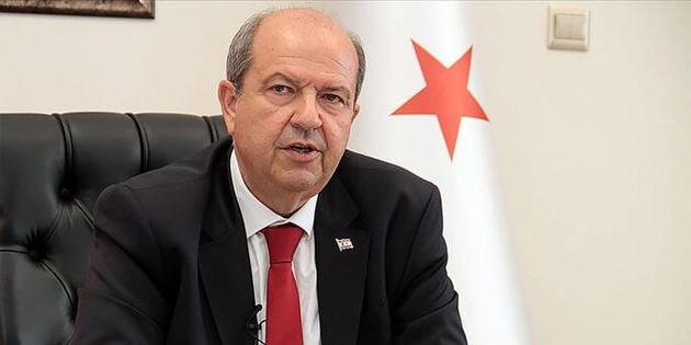 """Tatar: """"Türkiye de KKTC de, Doğu Akdeniz'deki haklarının gasp edilmesine göz yummayacak"""""""