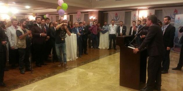 YDP, birinci kuruluş yıldönümünü resepsiyonla kutladı