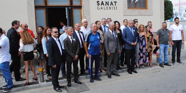 Güngördü, 16'ncı Zeytin Festivali için gelen misafirleri kabul etti