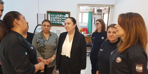DP Kadın Örgütü'nden bir heyet merkezi cezaevi'ni ziyaret etti