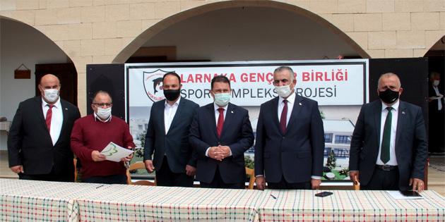 Başbakan Saner, İskele'de incelemelerde bulundu