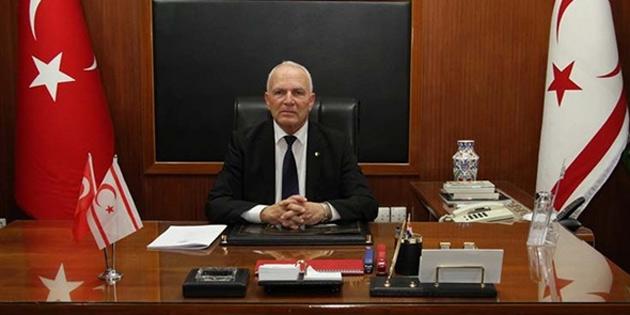 """Töre: """"kimse TC ve KKTC'yi yok sayarak Kıbrıs adası etrafındaki denizleri işgal edemez"""""""