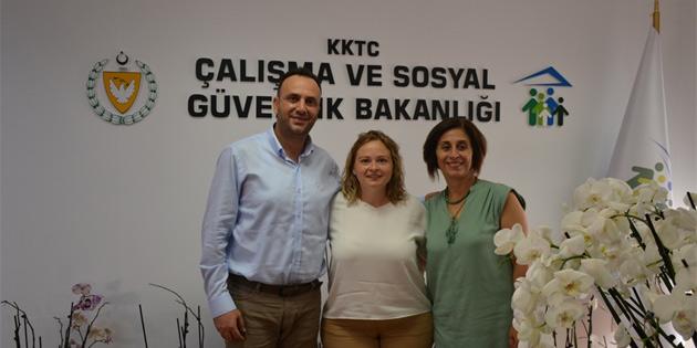 Çeler'den kadın sağlığı araştırması yapan KISAA'ya destek