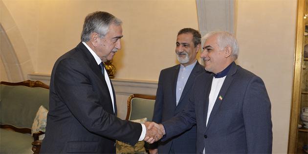 İran Büyükelçisi Reza Zabib'i kabul etti