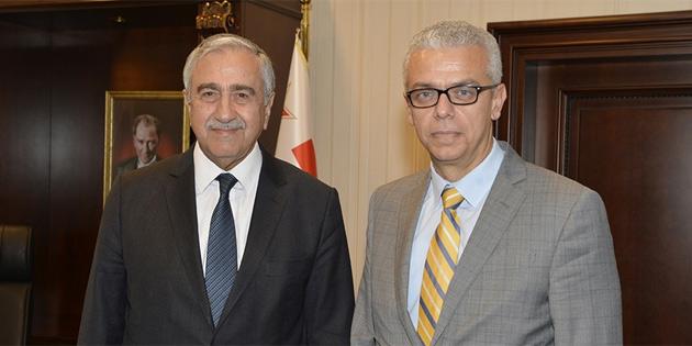 Akıncı, New York Temsilciliği görevine atanan Korukoğlu'nu kabul etti