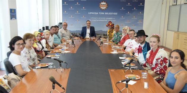 Uluslararası Göçmenköy-Taşkınköy Kültür ve Sanat Festivali konuklarını kabul etti