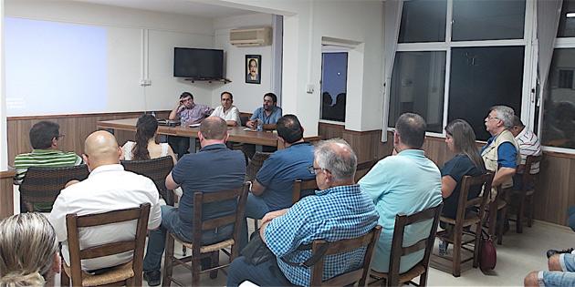 """CTP Mağusa İlçesi sohbetleri """"Güney Kıbrıs'ta ve Yunanistan'da güncel siyaset"""" konulu toplantı ile devam etti"""