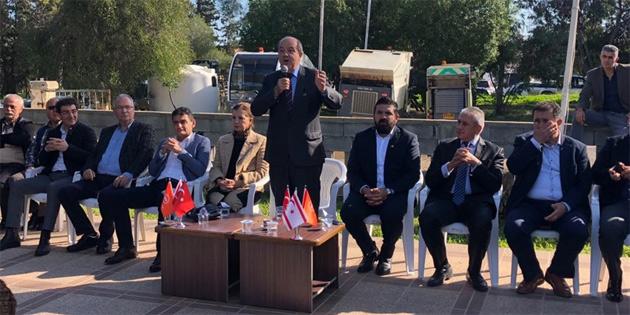Tatar Gazimağusa'yı ziyaret etti