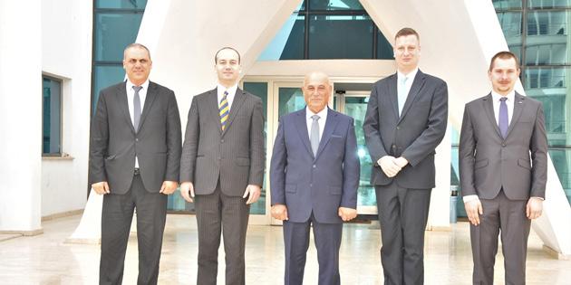 Macaristan Belediyeler Meclis Üyeleri Birliği heyeti Belediyeler Birliği Başkanı Benli'yi ziyaret etti