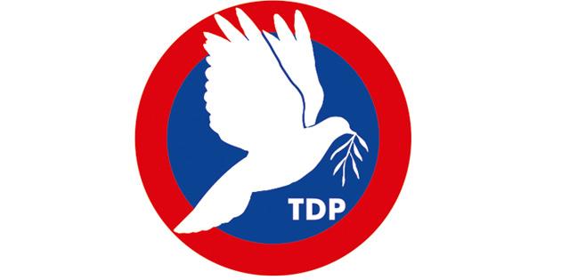 """""""TDP temel ilkeleri doğrultusunda siyasal mücadelesini sürdürecek"""""""