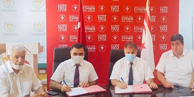 Kuzey Kıbrıs Türk Kızılayı ile Sağlık Bakanlığı protokol imzaladı
