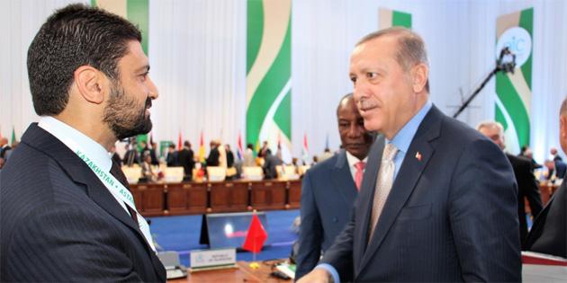 Atun, Türkiye Cumhurbaşkanı Erdoğan ile görüştü