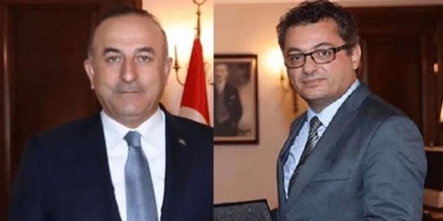 Bakan Çavuşoğlu, Erhürman ile görüştü