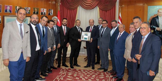 Tatar: 'Devleti geliştirmek amacıyla çalışmaya devam ediyoruz'