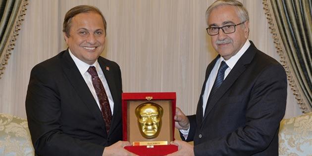 Cumhurbaşkanı Akıncı CHP Genel Başkan Yardımcısı Torun'u kabul etti