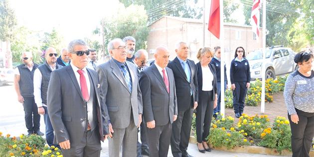 Gönyeli Belediyesi Atatürk'ü anma töreni düzenledi