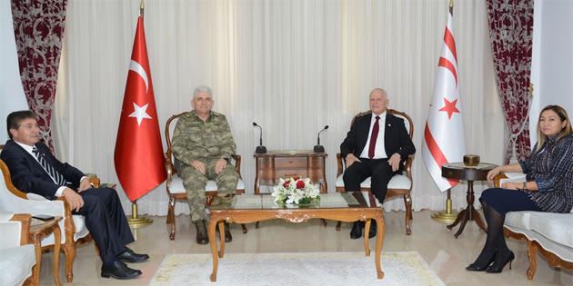 39. Tümen Komutanı Kaya'dan Meclis Başkan Yardımcısı Töre'ye ziyaret