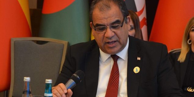 Bakan Sucuoğlu, İslam İşbirliği Teşkilatı Sosyal Kalkınmadan Sorumlu 1. Bakanlar Toplantısı'nda konuştu