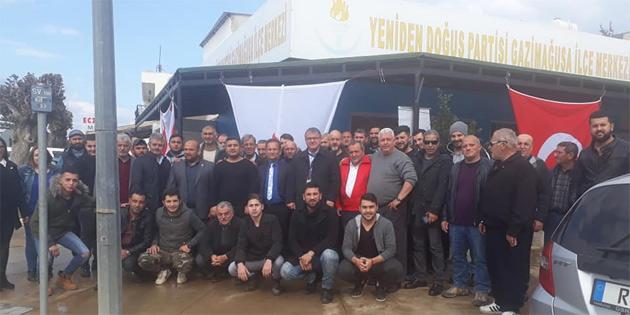 YDP'den Karşıyaka ve Maraş'a ziyaret