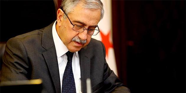 Akıncı yarın Bakanlar Kurulu'nu, 19 Şubat'ta ise meclis'i Kıbrıs sorunuyla ilgili bilgilendirecek