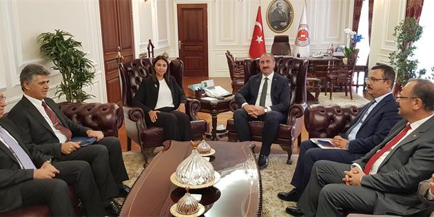 Baybars Ankara'da Gül'le görüştü