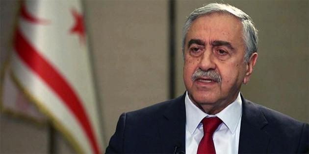 Cumhurbaşkanı Akıncı'nın Kıbrıs sorunuyla ilgili basın konferansı