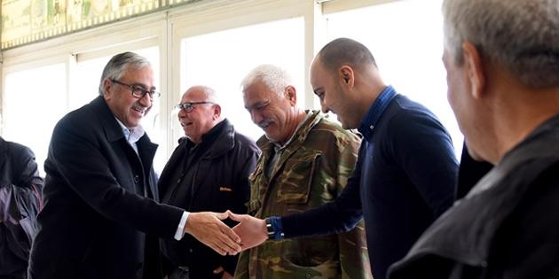Cumhurbaşkanı Akıncı, Kayalar, Geçitköy ve dağyolu'nda yurttaşlarla BİR ARAYA geldi