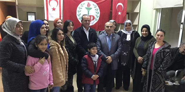 Ataoğlu 50 yeni üyeye rozet taktı