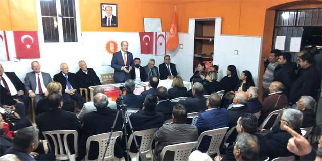"""""""Halk UBP'yi hükümetin başında görmek istiyor"""""""