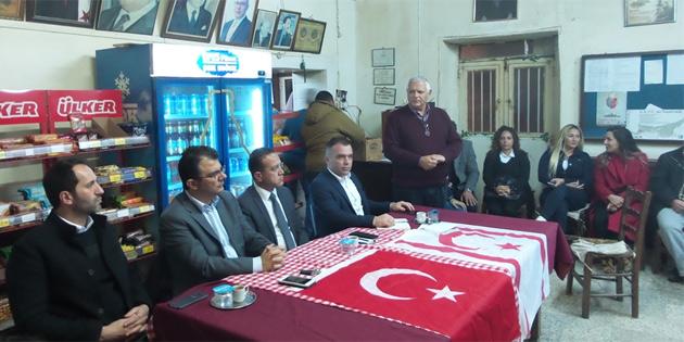 Kıbrıs sorunu ve hükümet icraatları konuşuldu