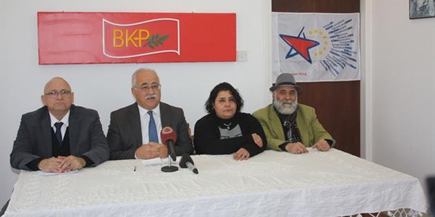 BKP Cumhurbaşkanlığı seçimlerinde Mustafa Akıncı'yı destekleme kararı aldı