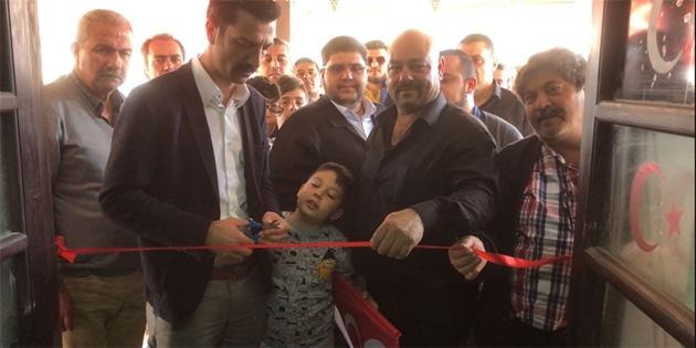 MDP, Akıncılar'a örgüt binasını açtı