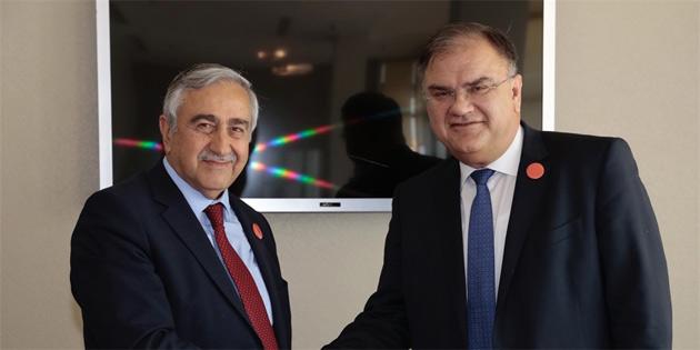 Cumhurbaşkanı Mustafa Akıncı, Bosna-Hersek Cumhurbaşkanı İvaniç ile görüştü