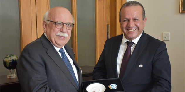 Ataoğlu Ankara'da Avcı'yla görüştü