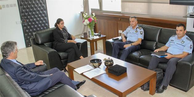İçişleri Bakanı Baybars, Polis Genel Müdürü Manavoğlu'yla görüştü