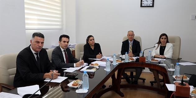 Hukuk, Siyasi İşler ve Dışilişkiler Komitesi, toplandı