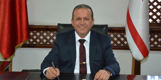Ataoğlu, Kurucu Cumhurbaşkanı Denktaş'ın 7. ölüm yıldönümü nedeniyle mesaj yayımladı